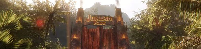 Projděte se Jurským parkem. Nadšenec ho vytvořil v CryEnginu