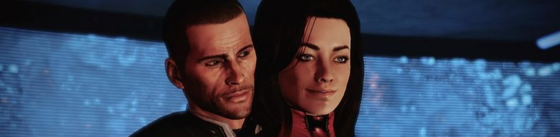 Mass Effect: Legendary Edition bez záběrů kamery na zadek Mirandy