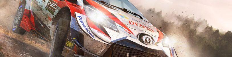 WRC 8 vás nechá si spravovat vlastní rallye tým