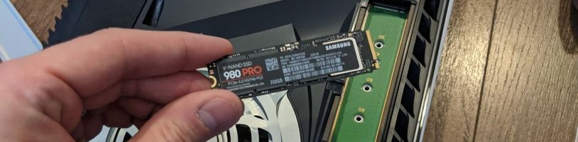 Seznam podporovaných SSD disků pro PS5 se rozrůstá