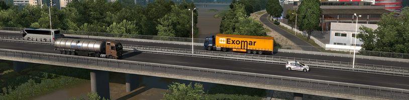 Za dva týdny se v Euro Truck Simulatoru 2 projedete k Černému moři