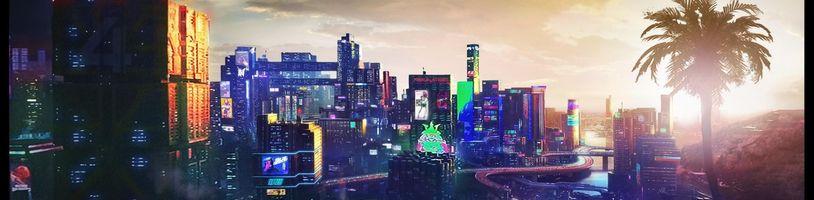 Odhalena část mapy Cyberpunku 2077