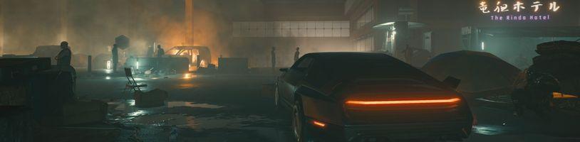 Cyberpunk 2077 ukazuje slumy Night City a létající auta