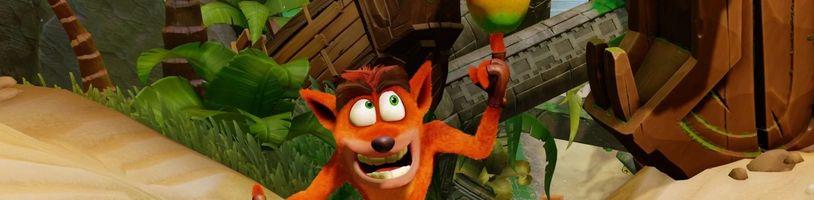 Dojde tento týden na oznámení nového Crashe Bandicoota?