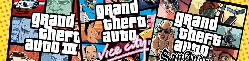 Důvěryhodné zdroje potvrdily GTA Remastered Trilogy