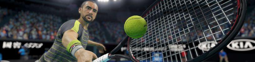 AO Tennis 2 láká na licenci Australian Open, propracovanou kariéru a komplexní editor