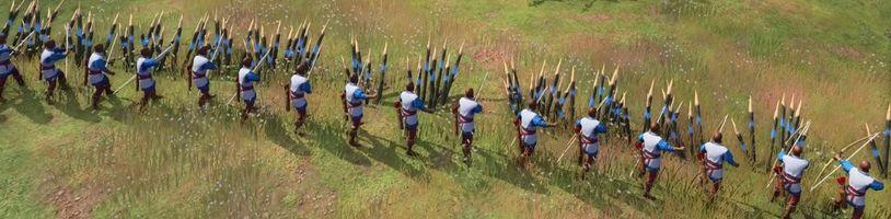 Středověký raketomet v Age of Empires 4