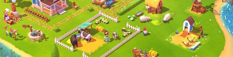 Hit Facebooku se vrací. Farmville 3 se spoustou zvířat pro iOS, Android a Mac