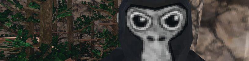 Gorilla Tag letí nahoru. Jednoduchou VR hru hraje přes půl milionu hráčů