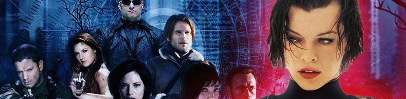 Resident Evil ve filmu - podprůměrná adaptace, nadprůměrný výdělek