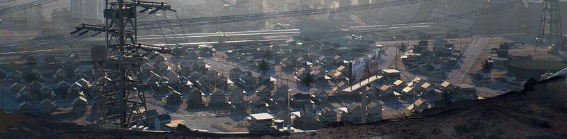 Cyberpunk 2077: Hráči vytvořili mapu a vývojáři ukázali chudinskou čtvrť