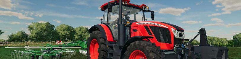 Farming Simulator 22 nabídne komplexní výrobní řetězce