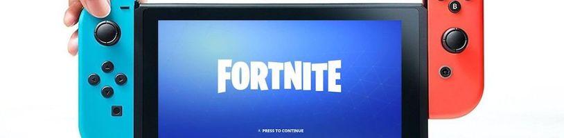 Fortnite byl oznámen na Nintendo Switch