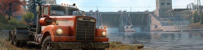 Vývojáři ukazují off-road simulátor SnowRunner