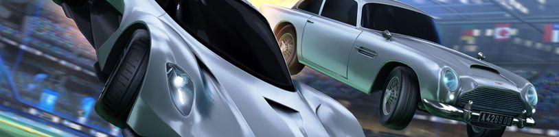 Aston Martin Valhalla z filmu Není čas zemřít přichází do Rocket League