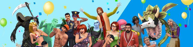 The Sims slaví 20. narozeniny: statistiky, slevy a nová aktualizace