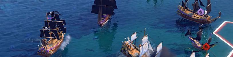 Civilization VI dostává režim vzdávající hold klasice Sid Meier's Pirates!