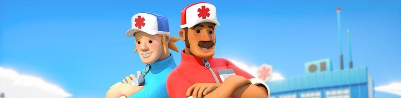 U kooperativní záchranářské hry The Stretchers pro Switch zažijete spoustu legrace