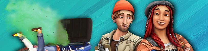 Válení v odpadcích s The Sims 4 Ekobydlení
