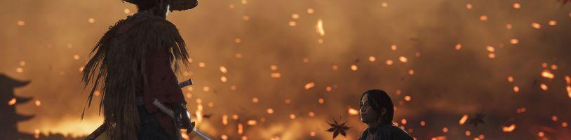 Samurajská akce Ghost of Tsushima vyjde v létě na PS4