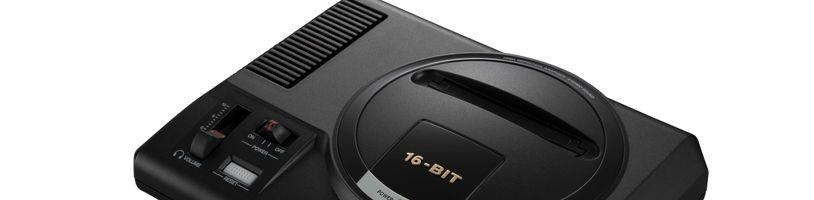 Sega přichází s mini verzí Mega Drive