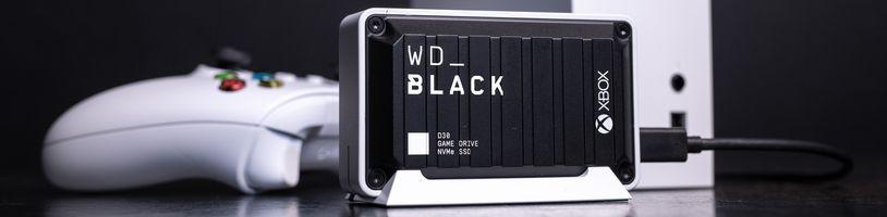 Nové externí SSD od Western Digital cílí na konzolisty