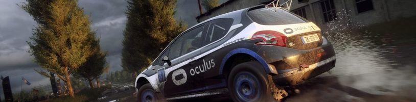 DiRT Rally 2.0 dostává podporu pro VR