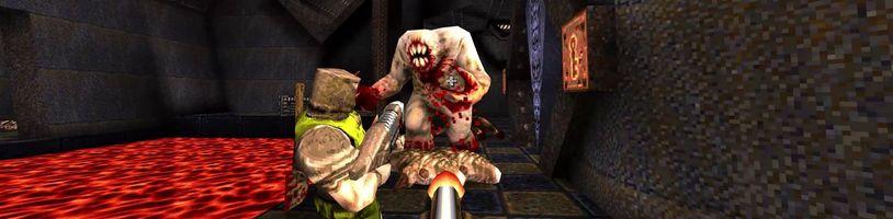 První Quake se vrací s originální hudbou a s novým rozšířením od tvůrců Wolfensteina
