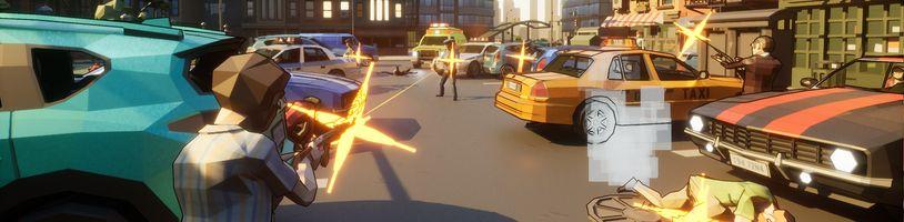 Druhá parodie na GTA je plně složena z low-poly modelů