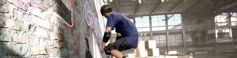 Remastery Tony Hawk Pro Skater 1 a 2 nabídnou další profesionální skateboardisty a demo