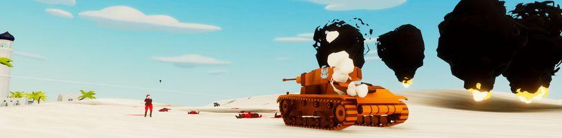 Čerstvě představený Total Tank Simulator připomíná Battlefield Heroes