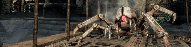 Modifikace remaku Morrowind pro Skyrim vypadá povedeně