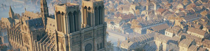 Assassin's Creed: Unity má pomôcť v reštaurovaní zhoreného Notre Damu