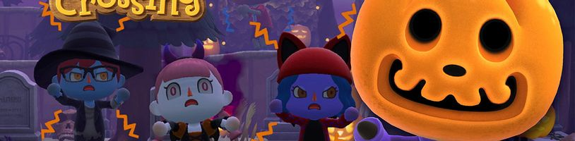 Do Animal Crossing: New Horizons přichází Halloween!