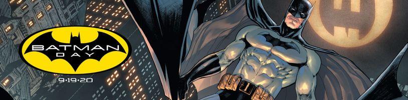 Batman má vlastný deň a oslavovať bude celý svet