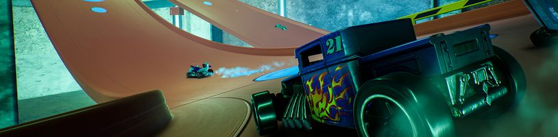Hot Wheels Unleashed: Malá auta závodí na staveništi