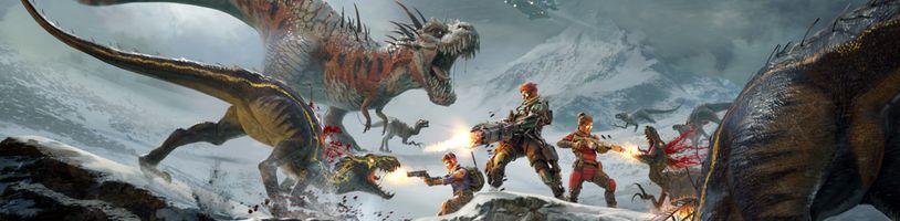 Střílečka Second Extinction vás vezme na naši planetu ovládanou dinosaury