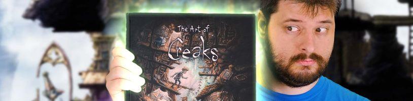 The Art of Creaks - Nádherný artbook o překrásné české hře