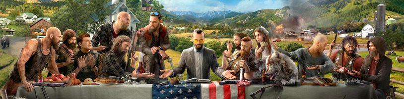 Ubisoft vytvořil Far Cry 5 dle své vybudované kuchařky her v otevřeném světě, naštěstí to není ten nejvážnější problém