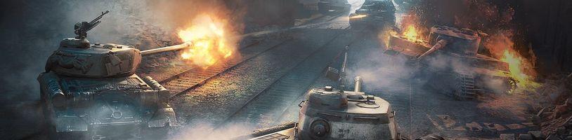 Dočasné příměří ve World of Tanks. Hráči budou společně bojovat proti umělé inteligenci
