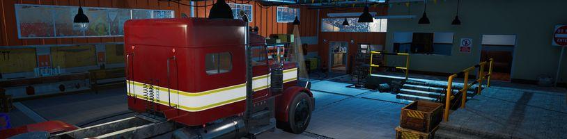 Alaskan Truck Simulator vás vyzve k řízení a přežití v nejdrsnějších podmínkách