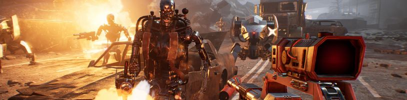 Střílečka Terminator: Resistance je překvapivě hodně o stealthu