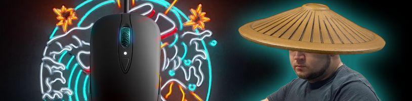 SteelSeries Sensei Ten navazuje na legendární závodní myš
