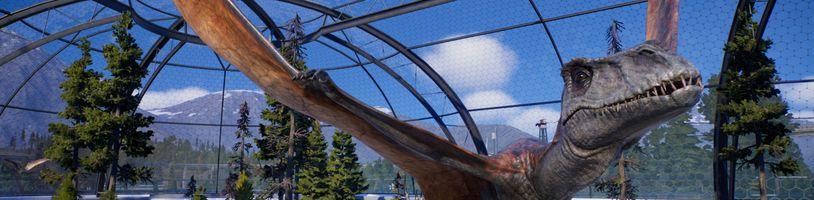 O udržení spokojenosti návštěvníků v Jurassic World Evolution 2