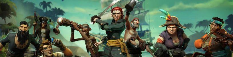 Sea of Thieves zažívá citelný odliv hráčů
