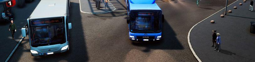 Z PC se na PS4 a Xbox One dostal Bus Simulator 18