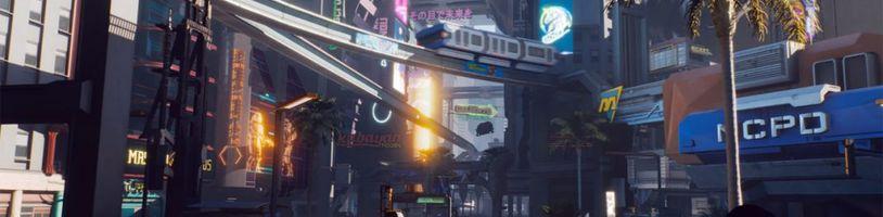 Mapa Cyberpunk 2077 bude pravděpodobně menší než ve Witcher 3, za to ale bude více naplněná obsahem