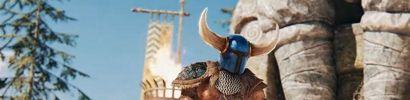 For Honor odstartuje pátou sezónu spojením s 2D plošinovkou Shovel Knight