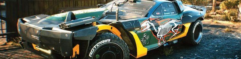 Upravená vozidla v Cyberpunku 2077 mají zajímavé funkce