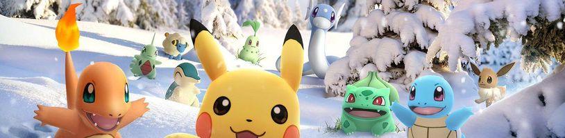 Pokémon Go nám k Vánocům nadělí pár dárků